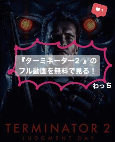 『ターミネーター2』のフル動画を無料で見る!あらすじ・見どころをおさらい!